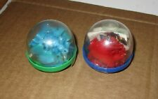 Vintage Mazinga and Raydeen SD Mini Plastic Robots Gashapon Japanese Gumball