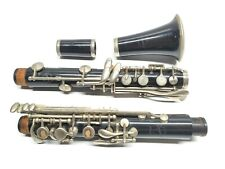Normandy Plateau Bb Plastic Clarinet Rare Closed Hole Keys Includes Case No Mpc