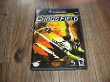 Chaos Field (Nintendo GameCube, 2005) complete tested shooter