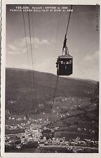 # ORTISEI: FUNIVIA AEREA SULL'ALPE SI SIUSI - 1935