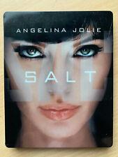 Salt 2010 Blu-ray Spy Thriller Action Film w/ Angelina Jolie Extended Steelbook