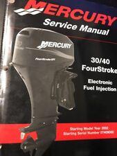 Mercury Marine Outboard Service Manual 30/40 FourStroke 90-883064
