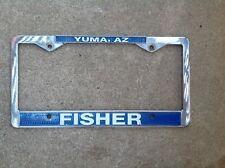 Fisher Chevrolet - Buick - Gmc - Yuma Arizona Dealer License Plate Frame