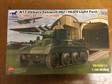 BRONCO 1/35 A17 VICKERS TETRARCH Mk.I / Mk.ICS LIGHT TANK CB35210 NEW