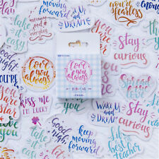 45x Cute Colorful Mood Japanese Stationery Stickers For DIY Scrapbooking Diary