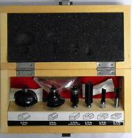 Skil By Bosch 2610944969 6pc. Carbide Router Bit Set