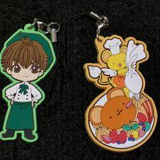 Cardcaptor Sakura Cafe Animate exclusive rubber stamp Clamp Syaoran Kero charm