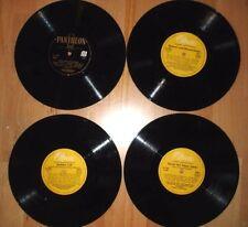 Album mit 4 alten LPs (Heimatlieder/Franz Lehár/Echo vom Broadway/Berliner Luft)
