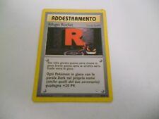 POKEMON CARDS: 1x TCG Rifugio Rocket-Stadio-Neo Revelation-63/64-ITA Italiano x1
