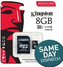 Neues AngebotNEU Original Kingston 8gb MicroSD Karte Class 10 Geschwindigkeit bis zu 80mb/s Speicherkarte Wi