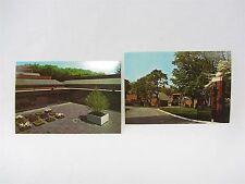 2 Lot Postcard - Scottish Rite Masonic Museum Lexington MA, National Heritage