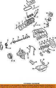 GM OEM-Valve Cover Gasket 14092297