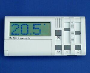 Buderus HS4201 MEC FB Fernbedienung FMEC HS Mobilteil Ecomatic 4000 Logamatic