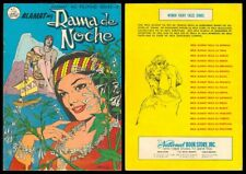 Philippines Legend National Komiks Alamat Ng Dama De Noche Comics