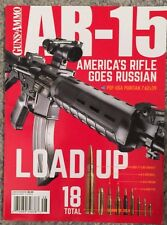 Guns And Ammo AR-15 America's Rifle Goes Russian Issue No 4 2015 FREE SHIPPING!