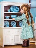 """Queens Treasures 18"""" Doll KITCHEN CUPBOARD HUTCH  For American Girl Furniture"""
