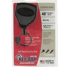 KEY BAK KEY REEL SUPER 48 HEAVY DUTY RETRACTABLE RETRACTING KEY REEL