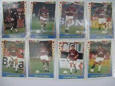 Super Calcio 97-98 Serie A Panini AC Milan complete 17 Sticlers set Maldini