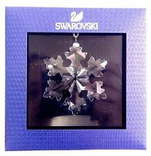LITTLE SNOWFLAKE ORNAMENT SMALL ANNUAL XMAS 2016 SWAROVSKI STAR CRYSTAL #5180211