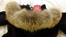 "BRAND NEW ""RED LABEL"" EDITION LADIES BLACK CANADA GOOSE VICTORIA MD PARKA JACKET"