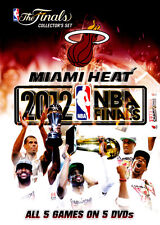 NBA: The Finals - Miami Heat: 2012 NBA Finals (Collector's  - DVD - NEW Region 4