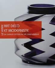 BOEK/LIVRE/BOOK : VERRE ART DECO GLAS catteau,val saint lambert,scailmont,artver