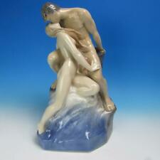 """Royal Copenhagen #1132 Porcelain """"The Wave and the Rock"""" Figurine - 18 inches"""