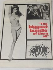 THE BIGGEST BUNDLE OF THEM ALL Raquel Welch Robert Wagner Press Pamphlet