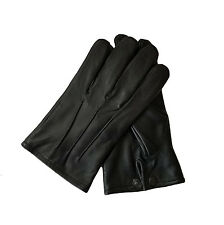 Mens Leather Dress Gloves - Formal-Victorian/Mourning-Steampunk-Medieval