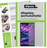 2x Schutzfolie für Medion Lifetab X10302 matt Displayschutzfolie Folie dipos