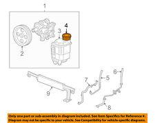 CHRYSLER OEM Power Steering Pump-Reservoir Tank Cap 52106856AC