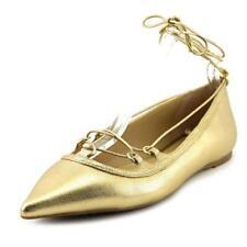 Calzado de mujer Michael Kors de piel color principal oro