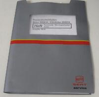 Werkstatthandbuch Seat Ibiza Cordoba Karosserie Montagearbeiten Innen ab 2002