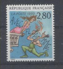 FRANCE TIMBRE 2840 - AVEC FLAMME de JM THIRIET - NEUF LUXE **