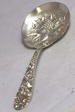 S. Kirk & Son 'Repousse' Sterling Silver Solid Berry/Casserole Spoon
