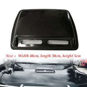 Car SUV ABS Engine Hood Air Flow Inlet Vent Cool Front Grille Universal Cover