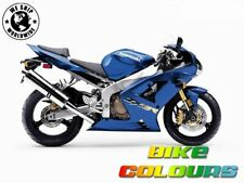 3 STAGE KAWASAKI TOUCH UP PAINT KIT ZX9R ZX6R ZX12R ZRX1200 CANDY LIGHTNING BLUE