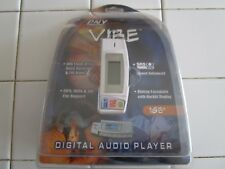 PNY Vibe 1GB Digital Audio Player MP3 WMA DRM & ADPCM Voice Recorder FM Sealed