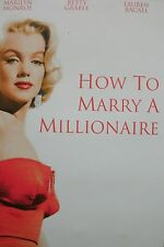 How To Marry A Millionaire (DVD) . FREE UK P+P .................................