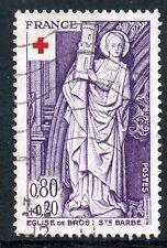 STAMP / TIMBRE FRANCE OBLITERE N° 1910  EGLISE DE BROU