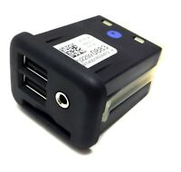 OEM new white Cadillac USB SD card plug module for center console Aux Input