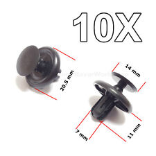 10X Engine Under Cover Push Type Retainer Clips For Toyota Lexus Peugeot CITROEN