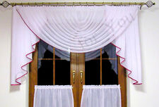 Hand Made Voile Net Curtains For You Water Effect White Colour Amazing Free P&P