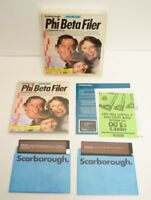 Apple II II+ IIe Scarborough Phi Beta Filer File Organizing System Software Vtg