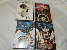 Japanese Anime 4 DVD Lot, Captian Harlock, Noir, Esra Flowne 2 different dvd's