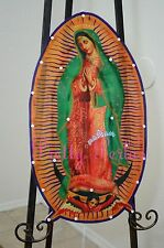 "Virgin Mary Our Lady Of Guadalupe-Light Up Christmas-Religion 22"" Luz De Navidad"