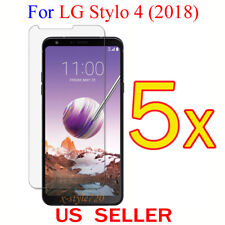 5x Clear LCD Screen Protector Guard Cover Film For LG Stylo 4 (2018)
