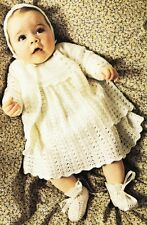 BABY LACY LAYETTE / 3ply - birth to 6 months - COPY Baby crochet pattern