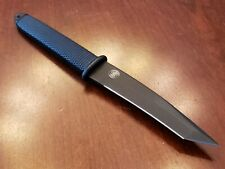 Smith and Wesson HRT 7T Special Ops/Rescue Recurve Tanto Boot Knife. NOS