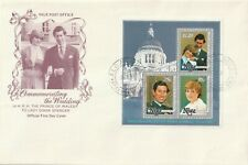 1981 Niue FDC cover Royal Wedding Lady Diana and Prince Charles